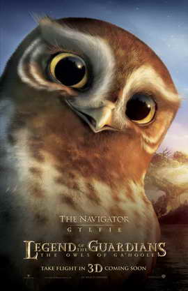 Legend of the Guardians: The Owls of Ga'Hoole - 11 x 17 Movie Poster - UK Style G