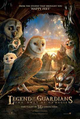 Legend of the Guardians: The Owls of Ga'Hoole - 11 x 17 Movie Poster - UK Style J