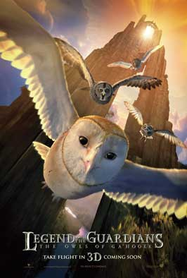 Legend of the Guardians: The Owls of Ga'Hoole - 27 x 40 Movie Poster - Style B