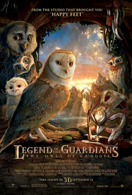 Legend of the Guardians: The Owls of Ga'Hoole - 27 x 40 Movie Poster - Style F