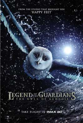 Legend of the Guardians: The Owls of Ga'Hoole - DS 1 Sheet Movie Poster - Style A