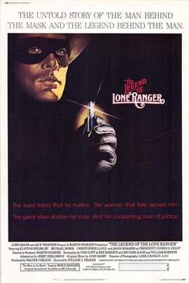 Legend of the Lone Ranger - 27 x 40 Movie Poster - Style A