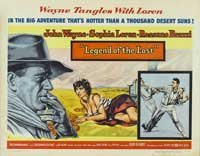 Legend of the Lost - 30 x 40 Movie Poster - Style A