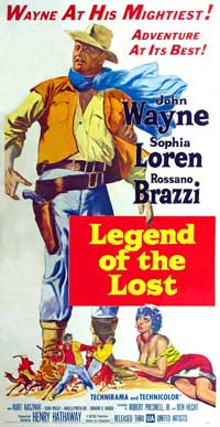 Legend of the Lost - 20 x 40 Movie Poster - Style A