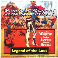 Legend of the Lost - 30 x 30 Movie Poster - Style A