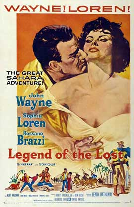 Legend of the Lost - 11 x 17 Movie Poster - Style B