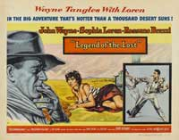 Legend of the Lost - 22 x 28 Movie Poster - Half Sheet Style A