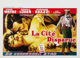 Legend of the Lost - 27 x 40 Movie Poster - Belgian Style A
