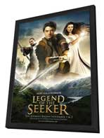 Legend of the Seeker (TV) - 27 x 40 TV Poster - Style A - in Deluxe Wood Frame