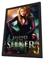 Legend of the Seeker (TV) - 11 x 17 Movie Poster - Style F - in Deluxe Wood Frame