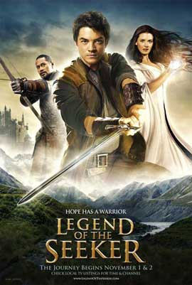 Legend of the Seeker (TV) - 27 x 40 TV Poster - Style A