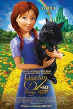 Legends of Oz: Dorothy's Return - 11 x 17 Movie Poster - Style B