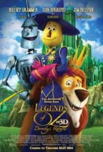 Legends of Oz: Dorothy's Return - 11 x 17 Movie Poster - Style D