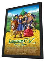 Legends of Oz: Dorothy's Return - 11 x 17 Movie Poster - Style C - in Deluxe Wood Frame