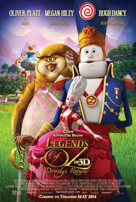 Legends of Oz: Dorothy's Return - 11 x 17 Movie Poster - Style A