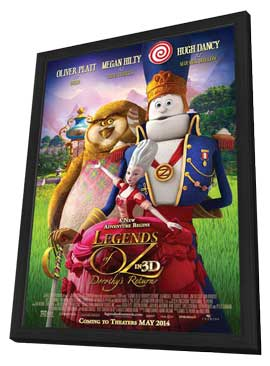 Legends of Oz: Dorothy's Return - 11 x 17 Movie Poster - Style A - in Deluxe Wood Frame