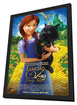 Legends of Oz: Dorothy's Return - 11 x 17 Movie Poster - Style B - in Deluxe Wood Frame