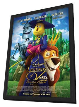 Legends of Oz: Dorothy's Return - 11 x 17 Movie Poster - Style D - in Deluxe Wood Frame
