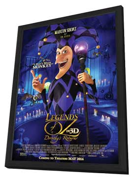 Legends of Oz: Dorothy's Return - 11 x 17 Movie Poster - Style F - in Deluxe Wood Frame