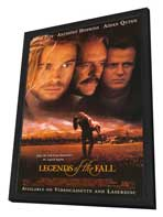 Legends of the Fall - 27 x 40 Movie Poster - Style B - in Deluxe Wood Frame