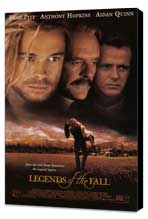 Legends of the Fall - 27 x 40 Movie Poster - Style A - Museum Wrapped Canvas