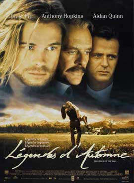 Legends of the Fall - 27 x 40 Movie Poster - French Style A