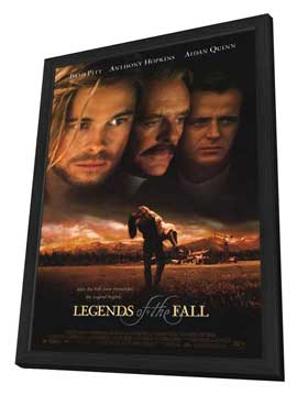 Legends of the Fall - 11 x 17 Movie Poster - Style A - in Deluxe Wood Frame