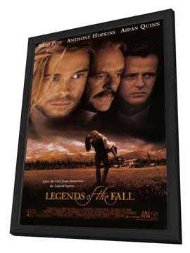 Legends of the Fall - 27 x 40 Movie Poster - Style A - in Deluxe Wood Frame