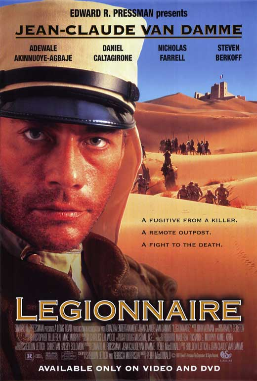 Legionnaire Movie Posters From Movie Poster Shop