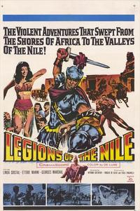 Legions of the Nile - 11 x 17 Movie Poster - Style A