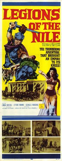 Legions of the Nile - 14 x 36 Movie Poster - Insert Style A