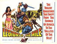 Legions of the Nile - 22 x 28 Movie Poster - Half Sheet Style A