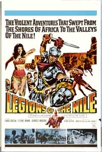 Legions of the Nile - 11 x 17 Movie Poster - Style B