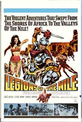 Legions of the Nile - 27 x 40 Movie Poster - Style B