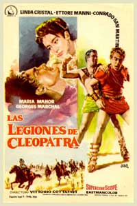 Legions of the Nile - 11 x 17 Movie Poster - Spanish Style A
