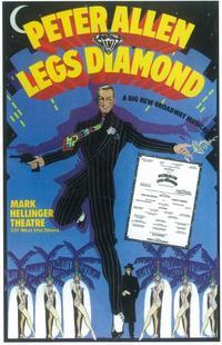 Legs Diamond (Broadway) - 11 x 17 Poster - Style A
