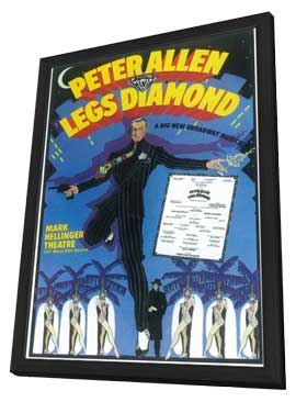 Legs Diamond (Broadway) - 11 x 17 Poster - Style A - in Deluxe Wood Frame
