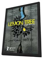 Lemon Tree - 11 x 17 Movie Poster - Israel Style A - in Deluxe Wood Frame