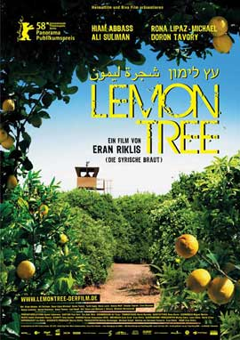 Lemon Tree - 11 x 17 Movie Poster - German Style A