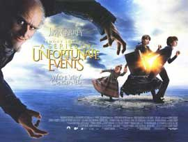 Lemony Snicket's A Series of Unfortunate Events - 11 x 17 Movie Poster - UK Style A