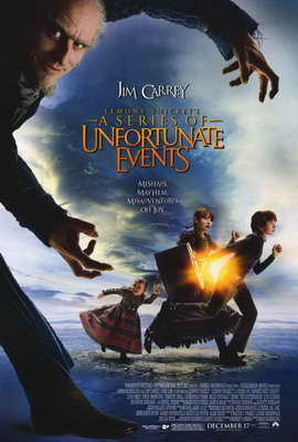 Lemony Snicket's A Series of Unfortunate Events - 27 x 40 Movie Poster - Style B