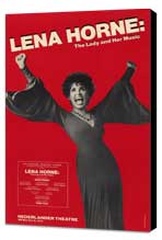 Lena Horne - The Lady and Her Music (Broadway) - 11 x 17 Poster - Style A - Museum Wrapped Canvas