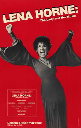 Lena Horne - The Lady and Her Music (Broadway) - 27 x 40 Movie Poster - Style A