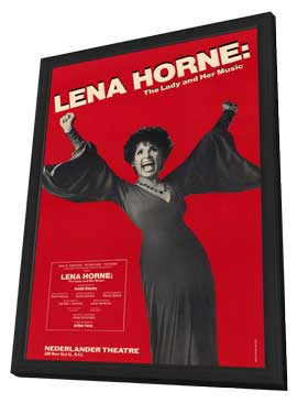 Lena Horne - The Lady and Her Music (Broadway) - 27 x 40 Movie Poster - Style A - in Deluxe Wood Frame