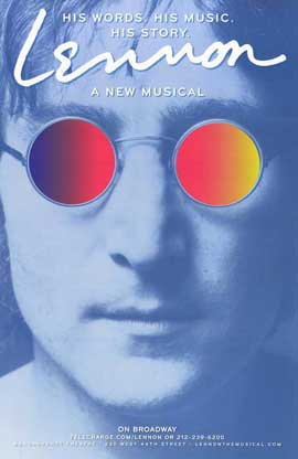 Lennon: The Musical - 11 x 17 Movie Poster - Style A