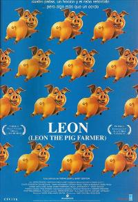 Leon the Pig Farmer - 11 x 17 Movie Poster - Spanish Style A