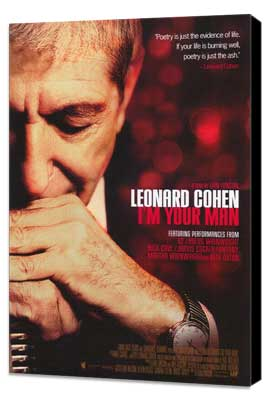 Leonard Cohen I'm Your Man - 11 x 17 Movie Poster - Style A - Museum Wrapped Canvas