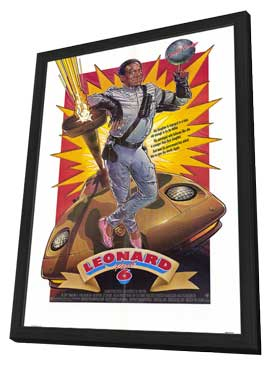Leonard Part 6 - 11 x 17 Movie Poster - Style A - in Deluxe Wood Frame