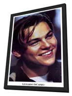 Leonardo DiCaprio - 11 x 17 Movie Poster - Style A - in Deluxe Wood Frame