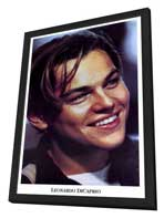 Leonardo DiCaprio - 27 x 40 Movie Poster - Style A - in Deluxe Wood Frame